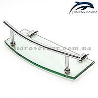 Полочка для душевой кабины, гидробокса SP-01 стеклянная., фото 1