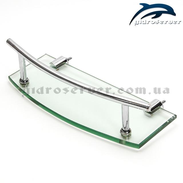 Полочка для душевой кабины, гидробокса SP-01 стеклянная.