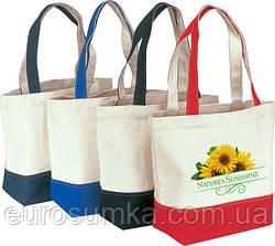 Тканевая сумка с логотипом от 100 шт.