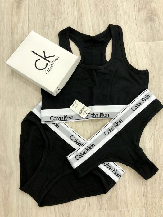 Calvin klein комплект женского нижнего белья массажер вибрационный электрический