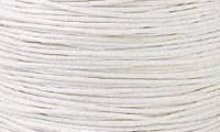 Вощенный шнур молочно-сероватый (примерно 80 м)