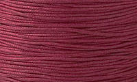Вощенный шнур бордовый (примерно 80 м)
