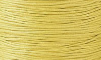 Вощенный шнур желтый (примерно 80 м)