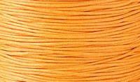 Вощенный шнур оранжевый (примерно 80 м)