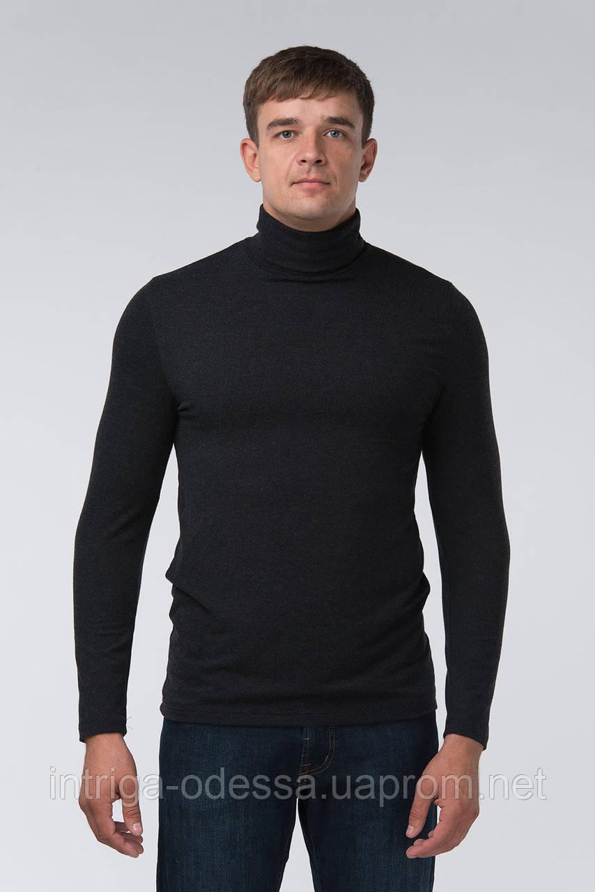 Термо-гольф мужской с шерстью