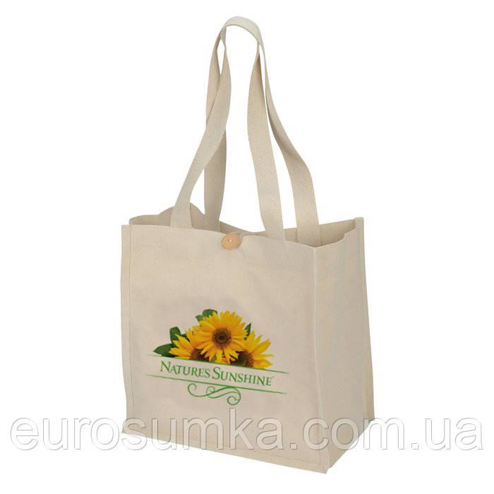 Хозяйственная сумка с логотипом от 100 шт.