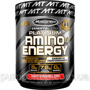 Амінокислоти MuscleTech Platinum Amino + Energy 288 г (30 порц.)