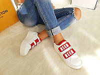 Кроссовки женские MSGM red