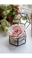 Шкатулка скринька для колец обручальных свадебный декор