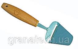 Нож для сыра, лопатка- нож для сыра 230х50 мм с деревянной ручкой