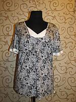 Трикотажная женская блузка. Распродажа! 3XL
