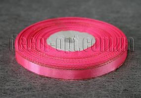 Лента атласная с люрексом розовая 1,0 см 36ярд 05
