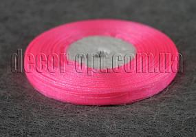 Лента органза розовая 0,6 см 50ярд 05