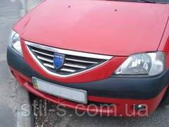 Накладки на решетку радиатора Dacia LOGAN (2005-2008)