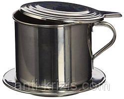 """Пресс-фильтр для приготовления натурального молотого кофе """"по-вьетнамски"""" №7, 100 мл."""