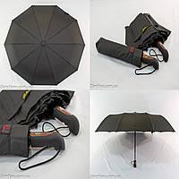 """Президентский зонт полуавтомат с куполом 118 см. """"анти-ветер"""" на 10 спиц от фирмы """"Belliissimo"""""""