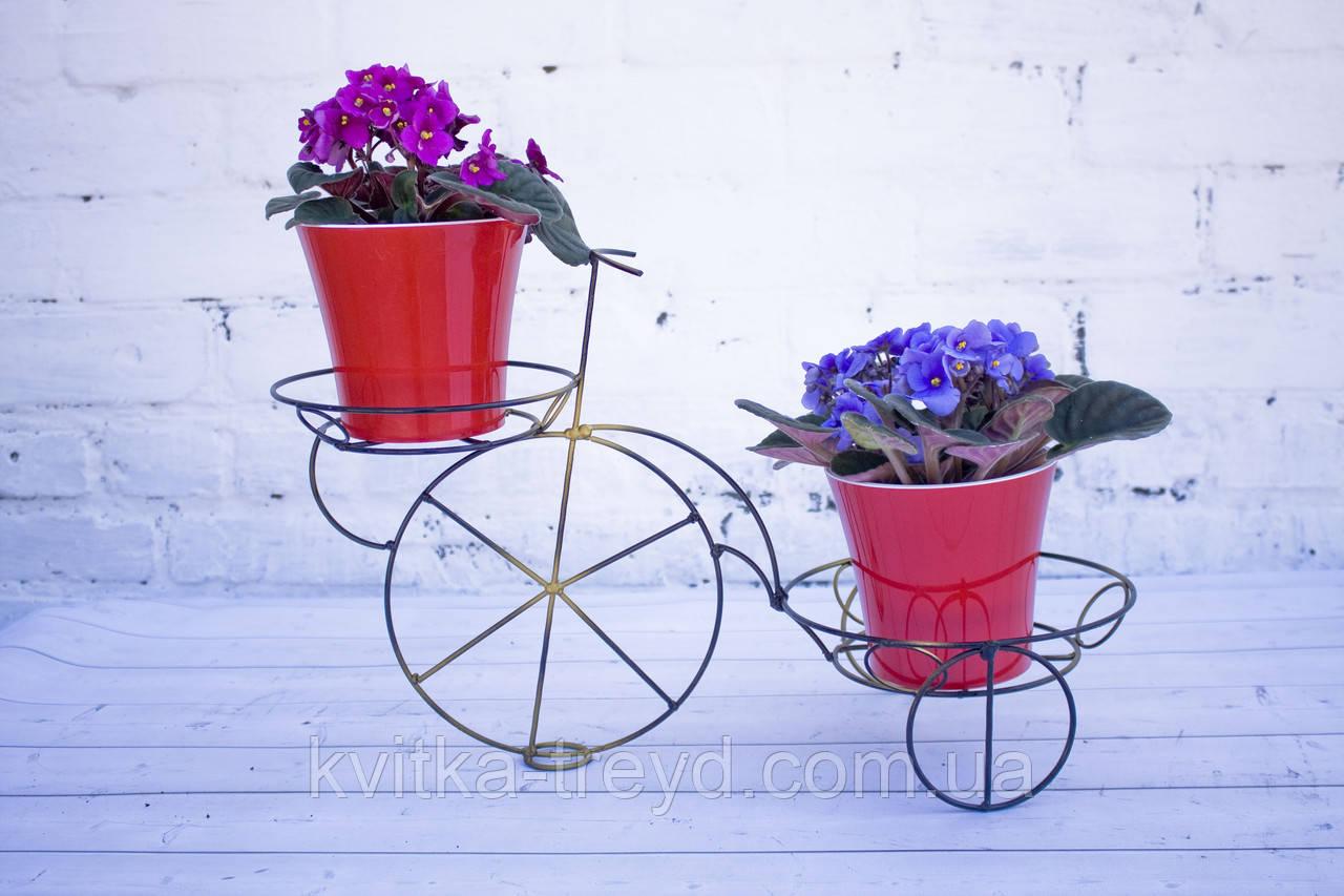 Кована підставка для квітів Велосипед 2
