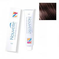 Крем-краска для волос Nouvelle Hair Color 4.7 эбеневое дерево 100 мл