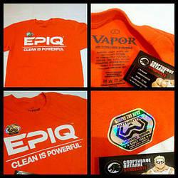 Футболка EPIQ Clean is Powerful T-shirt