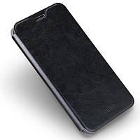 Кожаный чехол (книжка) MOFI Rui Series для Nokia 7 Черный