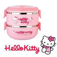 Детский ланч бокс Hello Kitty.