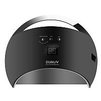 LED + UV лампа для ногтей Sun 6 48 Вт Черный