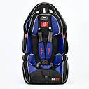 Дитяче автокрісло Joy G 2010 Колір чорно-синій 9-36 кг, фото 2