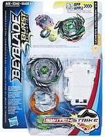 Игрушка Волчок Beyblade Evolution Genesis Valtryek V3 с пусковым устройством