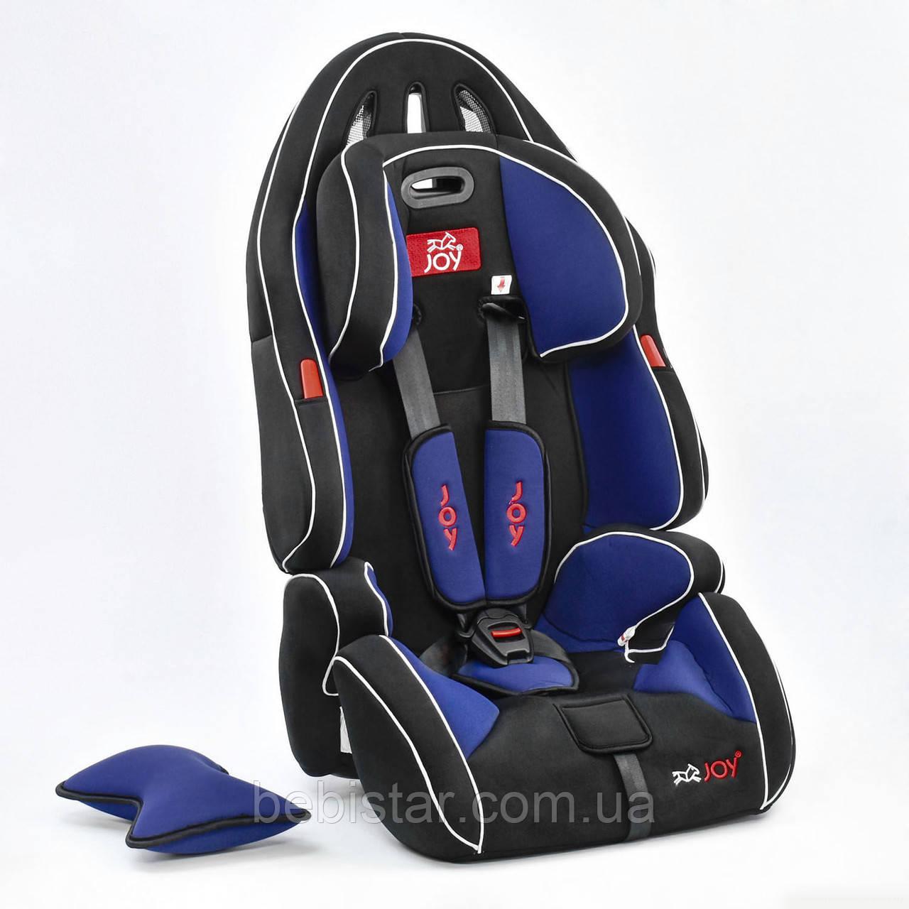 Дитяче автокрісло Joy G 2010 Колір чорно-синій 9-36 кг