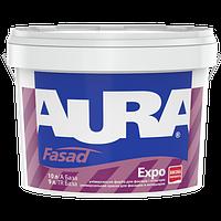 Aura Fasad Expo Белая 20 л - Фасадная акриловая краска матовая универсальная для наружных и внутренних работ
