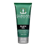 Гель-краска для волос Clubman черный 89 мл