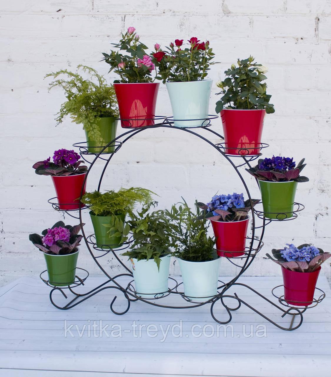 Кована підставка для квітів Кільця 12