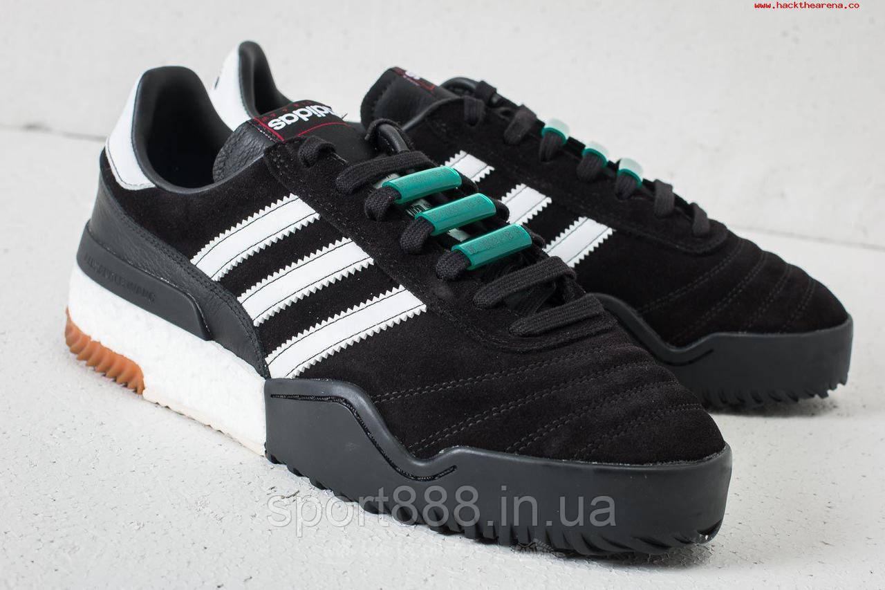 Alexander Wang by Adidas Originals BBall Soccer черные мужские кроссовки eur44