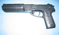 Пистолет черный M39