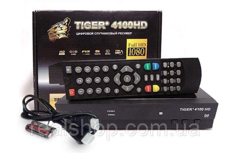 Tiger 4100 HD ресивер  + бесплатная прошивка!