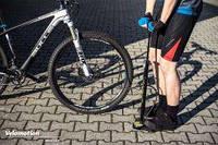 Вело насос Crivit с манометром