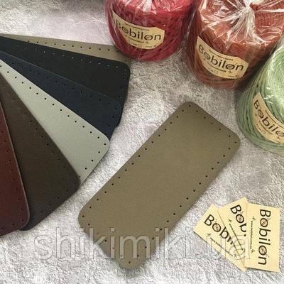 Дно для сумки из эко-кожи 27*12, цвет мокко