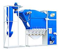 Зерноочистка от АЭРОМЕХ сепаратор САД-10 с циклоном ( очистка и калибровка зерна), фото 1