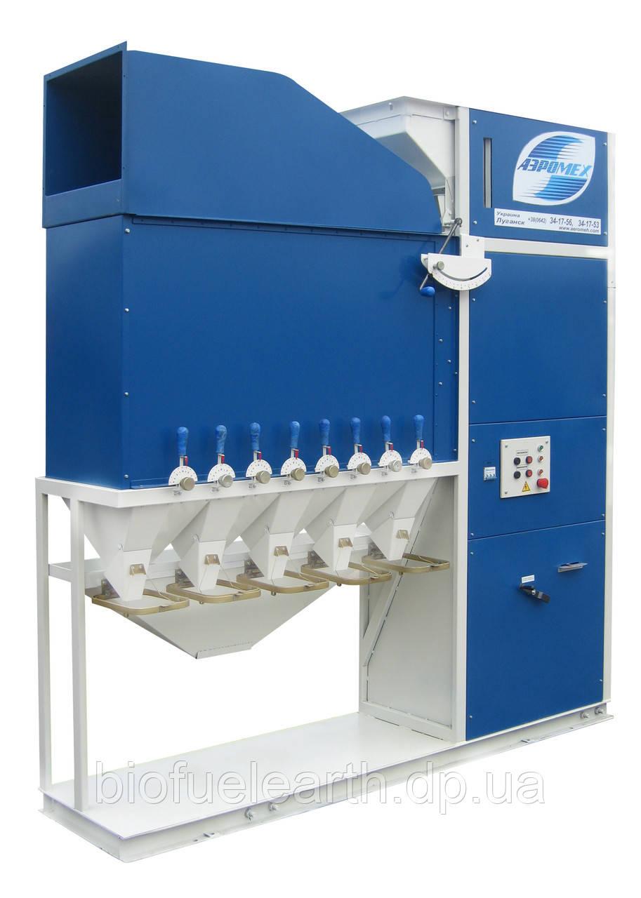 Аэродинамический зерновой сепаратор САД-10 - очистка зерна