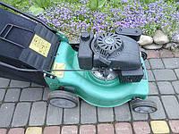 Мощная Газонокосарка бензинова, - 4.5кВт с корзиной 50л в идеальном состоянии из Германии