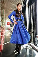 Платье с гипюровой кокеткой Sheila 48р