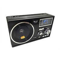 Портативная колонка радио MP3 USB Golon RX-BT04 c Bluetooth Black Хорошее качество Удобный дизайн Код: КДН3688