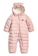 Детский зимний комбинезон для девочки  4-6 месяцев, фото 1
