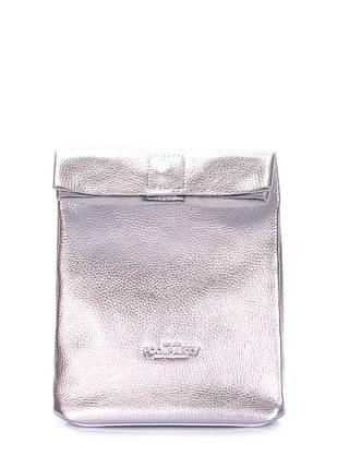 Шкіряна сумка-клатч POOLPARTY Lunchbox, фото 2