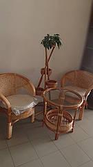Комплект для завтрака:2 кресла+столик