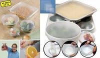 Набор упаковочных крышек-пленок для продуктов Stretch and Fresh.