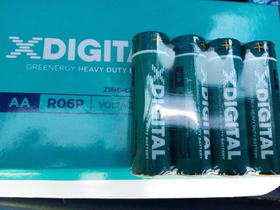 Батарейка солевая X-Digital R6 пальчик АА 60шт/уп