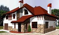 Комплексное строительство домов, коттеджей до 3х етажей