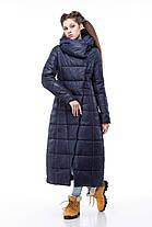 Самая модная зимняя куртка-пуховик до пяток, очень теплая размеры 42-56, фото 3