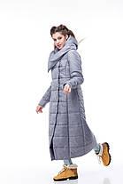 Самая модная зимняя куртка-пуховик до пяток, очень теплая размеры 42-56, фото 2